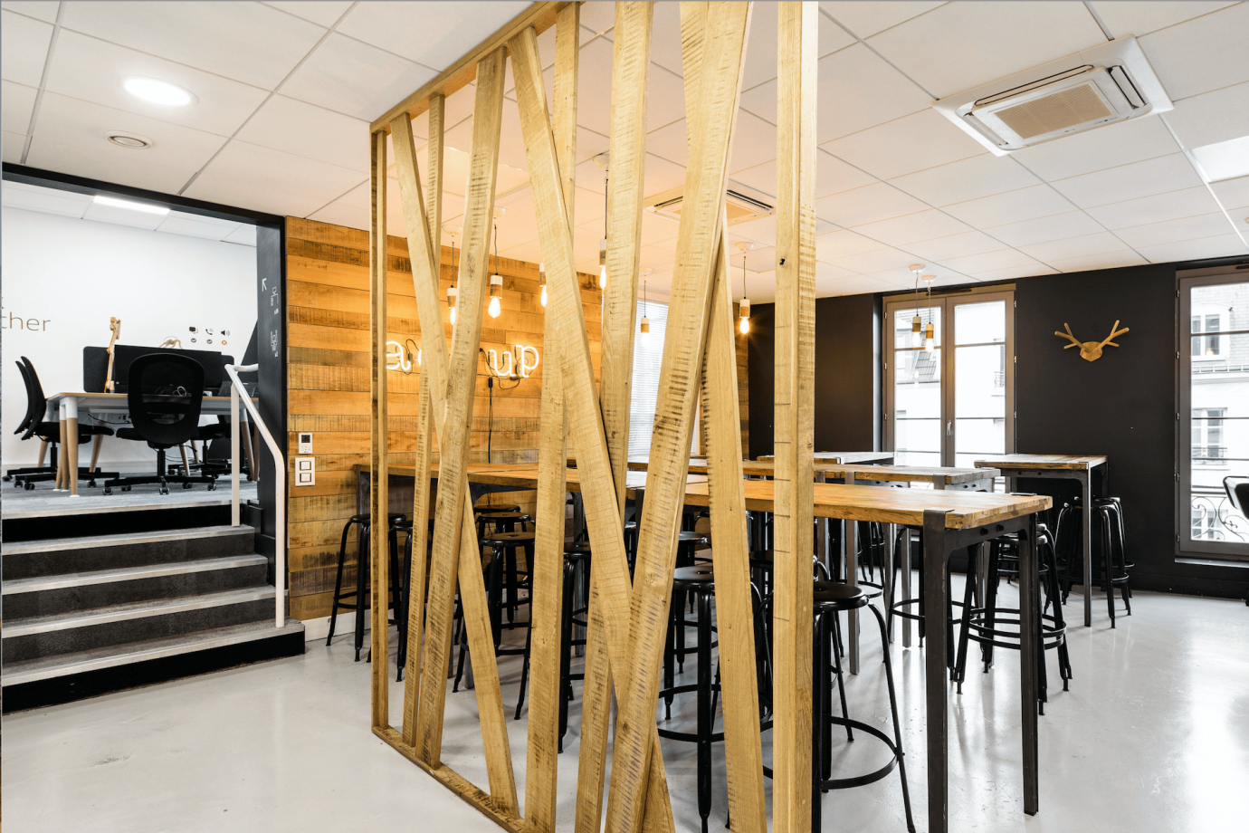 Shared office paris bureaux partagés postes choose work